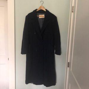 Pendleton Vintage Virgin Wool Double-Breasted Coat
